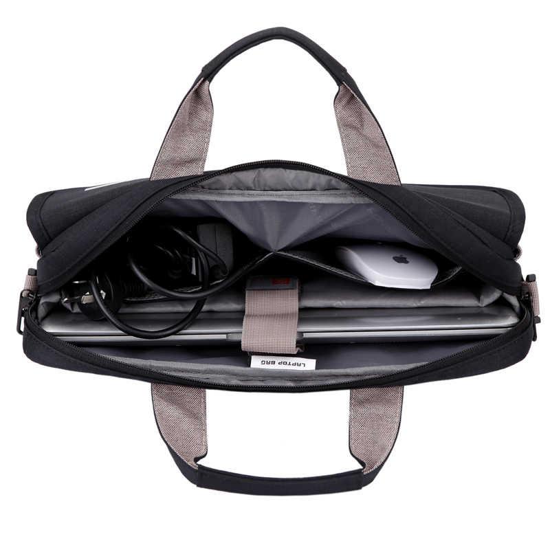 Унисекс 6 цветов большой емкости нейлон 13,3 14 15,6 дюймов Сумка для ноутбука защитный чехол для ноутбука Обложка компьютерные сумки