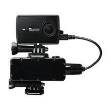 Новейшая xiao mi yi 4 k lite аксессуары 5200 мАч камера move power bank/поставка для xiaomi yi 4 k + 2 yi II Экшн-камера