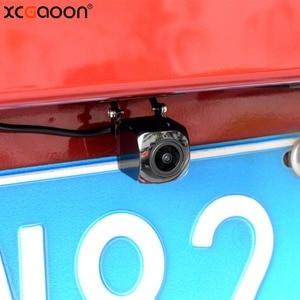 Image 5 - XCGaoon CCD 180 degree Fisheye Lens Car Camera Rear View Wide Angle Reversing Backup Camera Night Vision Parking Assist