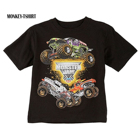 Monster Jam summer men T-shirt