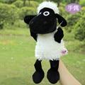 Candice guo! lindo de la historieta ovejas de peluche de juguete Nici estéreo cordero dulce muñeca marioneta de mano del bebé apaciguar juguete bedtime contar la historia 1 unid