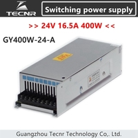 TECNR 24V 400W 16.5A switching power supply for cnc laser engraving machine GY400 24 A