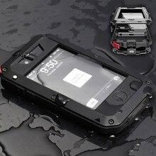 Lihnel Премиум Защита для iphone 4 4S extreme чехол противоударный Водонепроницаемый Военная Heavy жесткий чехол для телефона заднюю обложку
