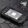 Proteção premium para apple iphone 4 4s extrema carrying case à prova de choque à prova d' água militar pesado hard case tampa traseira do telefone