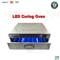 UV glue curing box,LED UV glue curing oven with LED lamp 84W for LCD refurbishment of Apple/Samsung/ HTC etc