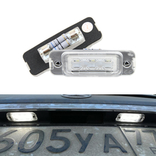 2x Error Free Led Number License Plate Light Car Tail Lamps For Benz R Class W251 ML CLass W164 GL Class X164 Replace 2518200066
