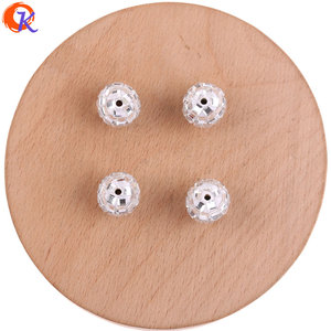 Image 5 - Cordial Design 100Pcs 12*14MM Jewelry Accessories/Crystal Bead/Polymer Clay Bead/Chunky Bead/DIY Bead/Hand Made/Earring Findings