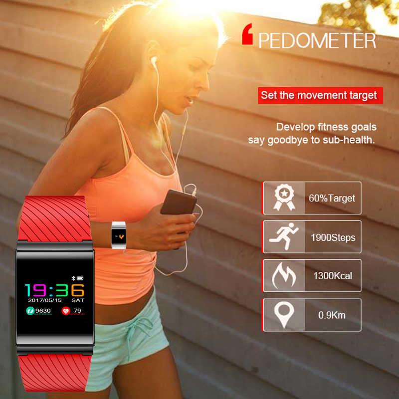 חכם צמיד גברים ליגע 2019 מותג ספורט שעון Bluetooth מידע תזכורת שינה ניטור מערכת עבור IOS אנדרואיד נייד