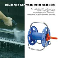 Portable Hoses Reel Garden Wall Mount 20 40M 1/2 Cart Water Pipe Storage Car Washer Pipe Exclude Winding Tool Rack Holder