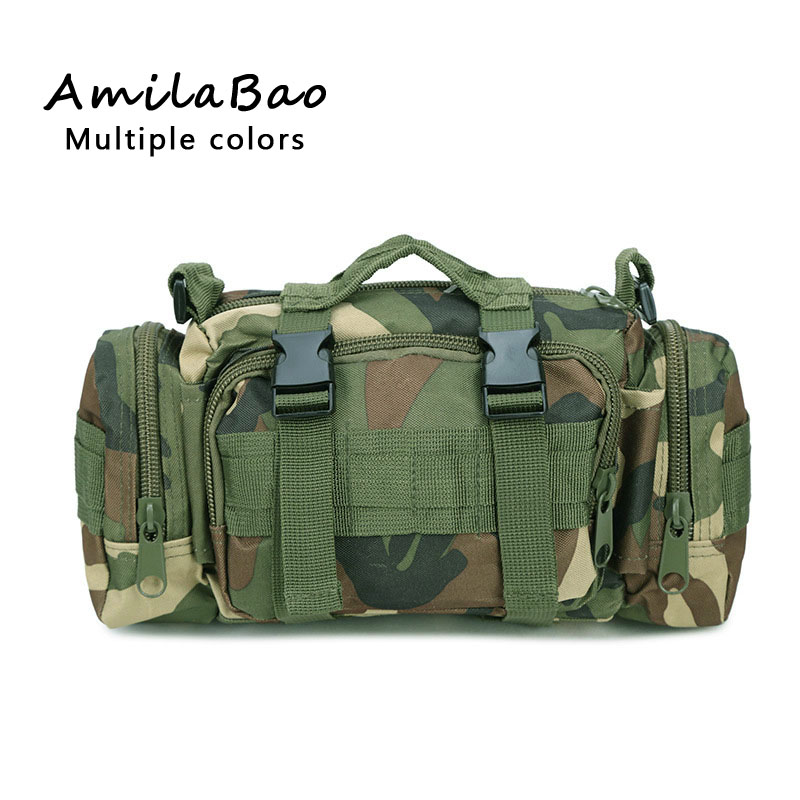 Tactics Waist Bag Molle Military Equipment Waist Pack For -7416