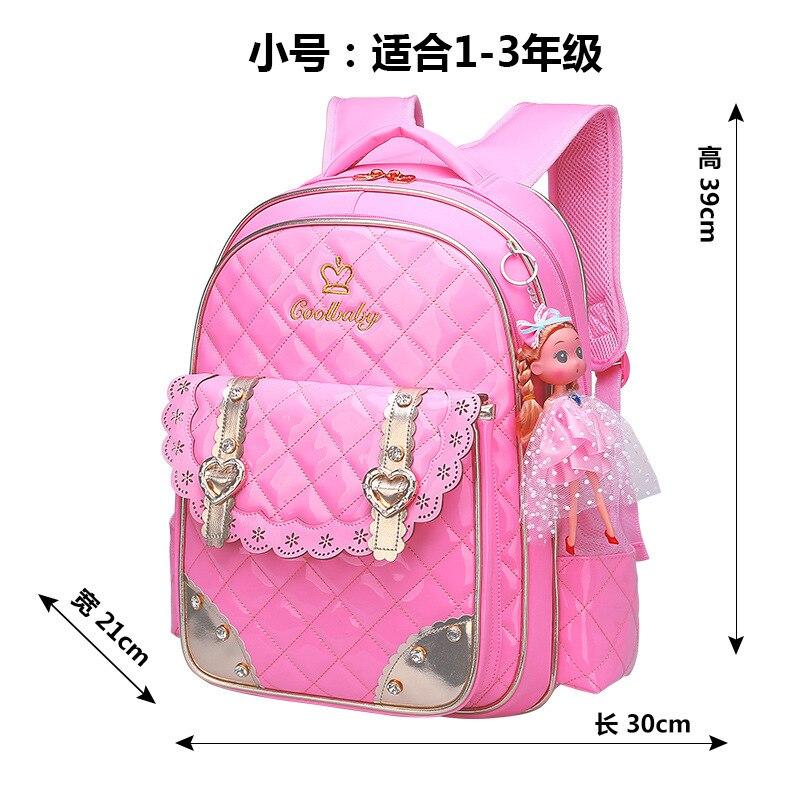 2018 Водонепроницаемый детские школьные сумки для девочек принцесса школьный рюкзак детский портфель ортопедические школьный детская книга...