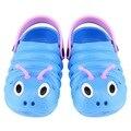 2017 verano zapatos caterpillar anmial estilo de dibujos animados los niños zapatos de bebé del niño zapatillas transpirables sandalias de los muchachos de