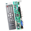 Free Shipping Universal LCD Controller Board Resolution TV Motherboard VGA/HDMI/AV/TV/USB HDMI Interface Driver Board