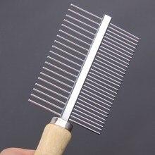 Multi-usage Dog Brush Stainless Steel