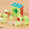 Sulong Yongjun Enigma Luminous Night Magic Speed Cube Glow In The Dark Fluorescência Cubo Magico Profissional Cubo Mágico Brinquedos Para Crianças