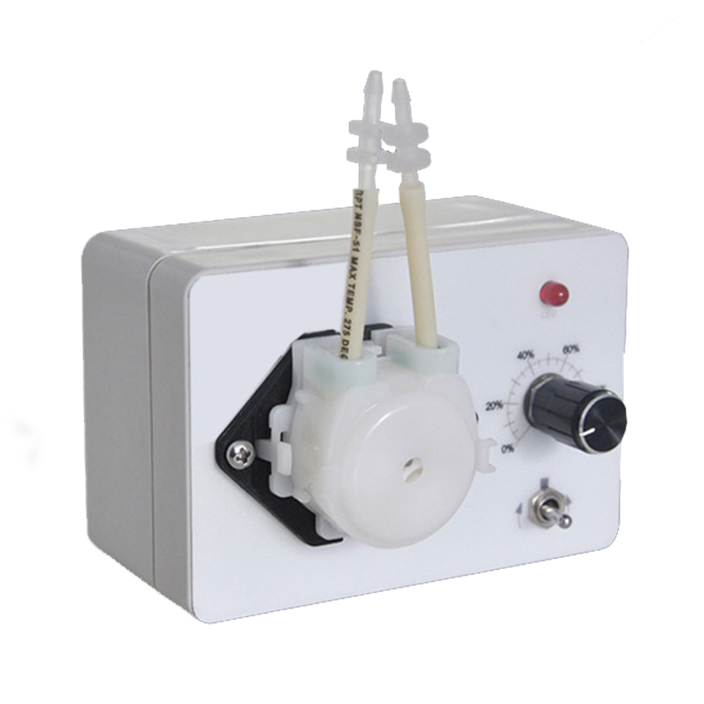 Powere adaptor included , self priming pump dosing pump 24V  laboratory metering pump reversible Variable speed peristaltic pump philips 48pus7600