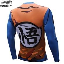 Dragon Ball Z Anime Casual Fashion Full Sleeves T-Shirts For Women & Men