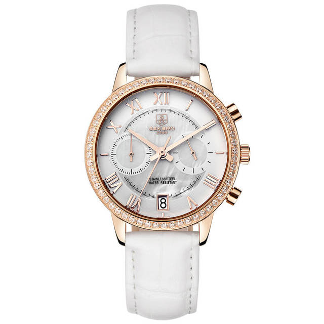 Popolare SEKARO Svizzera orologi uomo luxury brand Dressport Cronografo  PJ87