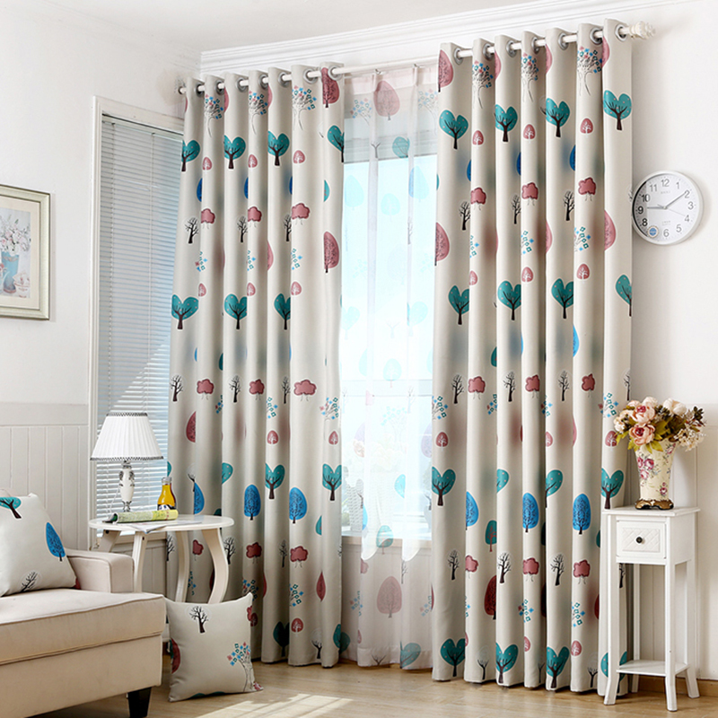 Stylish Leaves Drape Panel Valance Shade Curtain/Sheer Tulle Curtain Home  Decor Curtains For Living Room Home Textile In Curtains From Home U0026 Garden  On ...