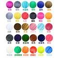 22 color o 20 colores o 10 colores/set Impresora 3D pluma de Filamento ABS/PLA 1.75mm Plástico Caucho Consumibles Material 3d pluma filamento