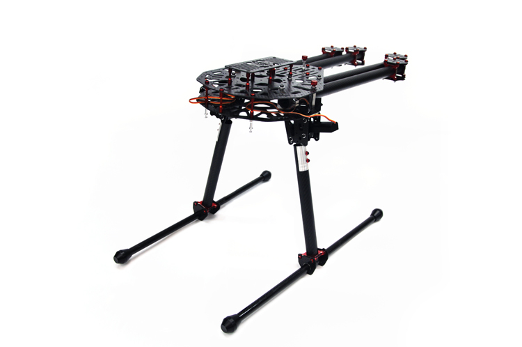 hh lj carbon fiber retractable landing gear of large multicopter octocopter hexacopter quadcopter for aerial