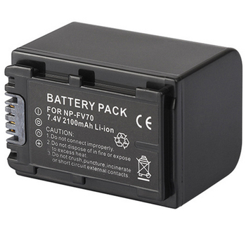 NP-FV70 Battery Pack for Sony FDR-AX33, FDR-AX53, FDR-AXP35, NEX-VG10, NEX-VG20, NEX-VG30, NEX-VG900 Handycam Camcorder фото