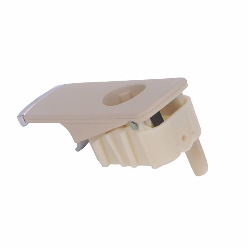 Chrome Glove Box Lock Lid Handle  (12)
