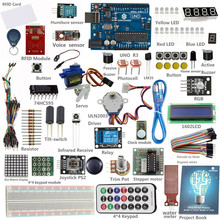 SunFounder Starter UNO R3 Kit RFID Learning Kit for Arduino Beginner from Knowing to Utilizing including UNO R3 Board