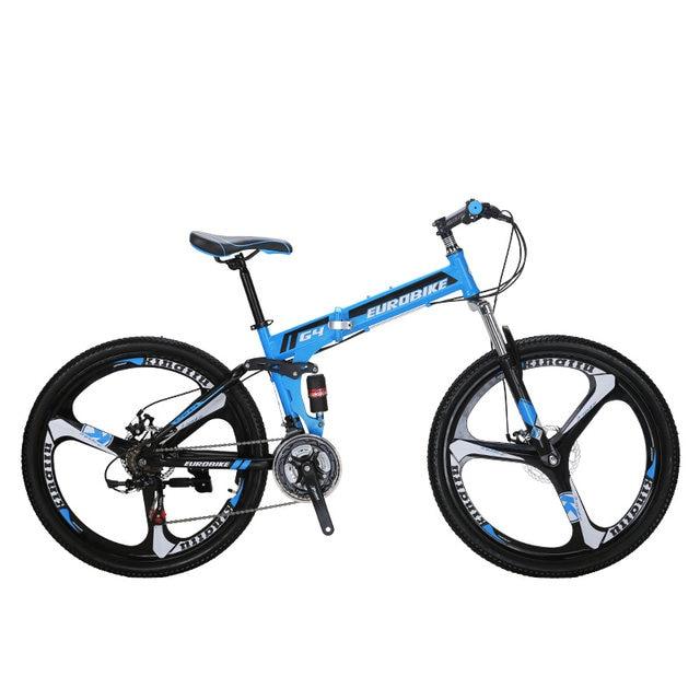Tienda Online EuroBike 26 pulgadas 21 velocidad bicicleta plegable ...
