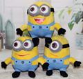 "3pcs / set 7 inch "" 18cm Despicable ME Movie Plush Toy  Minion Jorge Stewart Dave NWT with tags 3D eyes"