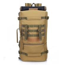 50L Tactical Military Backpack Camouflage Rucksack Sports Bag Outdoor Camping Hiking Hunting Tactical Army Bags Travel Backpack army military tactical rucksack hiking camping bag backpack for outdoor hunting travel