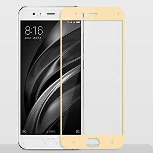 Image 4 - 3D закаленное стекло для Xiaomi Mi 6, полноэкранная защитная пленка 9H для Xiaomi Mi 6 Mi6