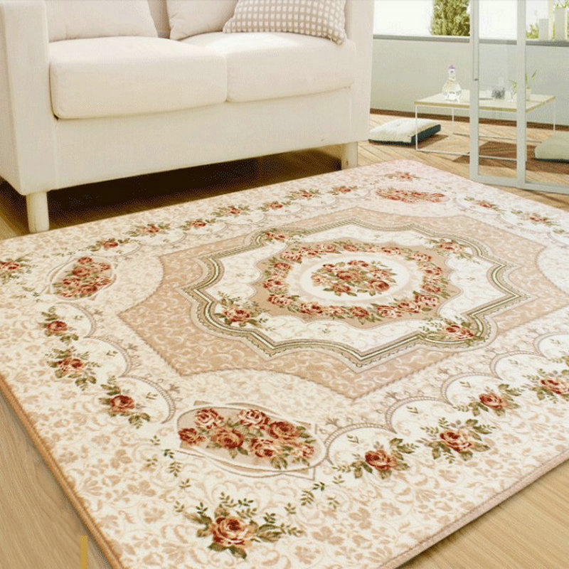 120x180CM European Style Living Room Big Area Decoration Carpet Bedroom Soft House Rugs Door Mat Coffee Table Carpets