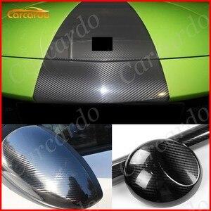 Image 2 - Carcardo 5Dカーボン車のステッカー5D炭素繊維ビニールラップ光沢5Dカーボンステッカー車ラップフィルム自動ステッカーバブル送料