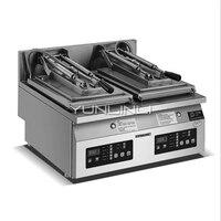 상업 전기 더블 헤드 스테인레스 스틸 튀김 만두 기계 스테이크 기계 대형 팬케이크 기계 PT 06A|전기스킬렛|가전 제품 -