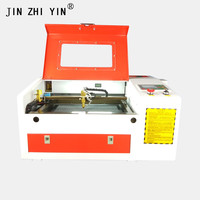 50w professional laser engraver 4030 wood acrylic leather laser engraving cutting machine 3040 with ruida 6442s controller