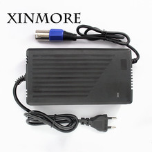 XINMORE 54.6V 4A 3A Lithium Li-ion Battery Charger For 48V Lipo Bike Power Tool Scooter Battery Pack