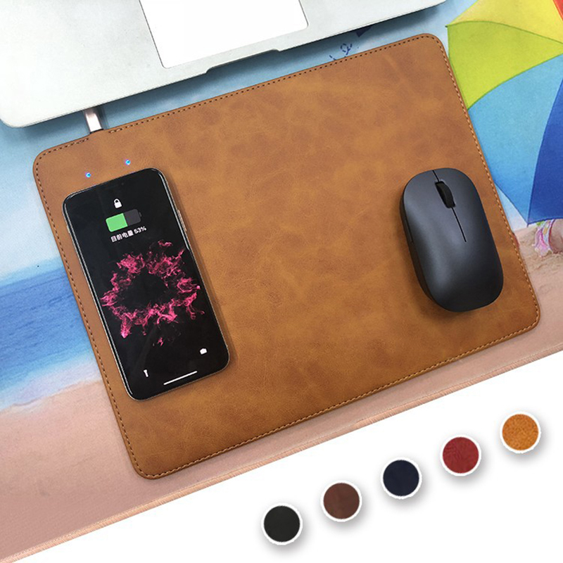 charging pad for iphone mobile phone qi wireless charger charging mouse pad mat 13785