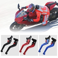 2pcs Motorcycle Aluminum Alloy CNC Adjustable Brake Clutch Levers Set With 6 Gears For YAMAHA FZ6