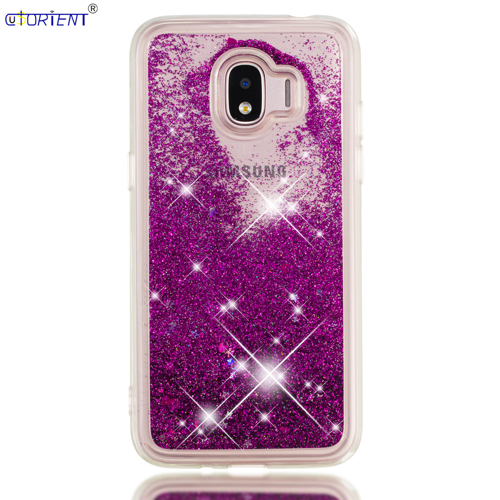 Amiable Funda For Samsung Galaxy J2 Pro 2018 Dynamic Liquid Quicksand Back Case Sm J250f J250f/ds J250g J250m Soft Silicone Bumper Cover Clients First Half-wrapped Case Phone Bags & Cases
