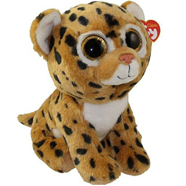Pyoopeo Ty Beanie Babies 10 25cm Freckles The Leopard Plush Medium