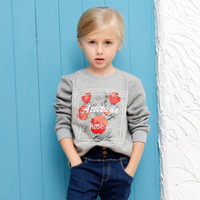 Dinosaur Sale Children Clothing Bobo Choses 2016 New Girl's T-shirt Blouse Children's Cotton Wear With Sleeves Female Leisure