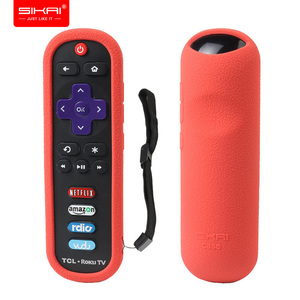Image 1 - TCL Roku RC280 3600R Remote Control Case SIKAI Silicone Shockproof Protective Cover RoHS Tested Material Skin Friendly Anti Lost
