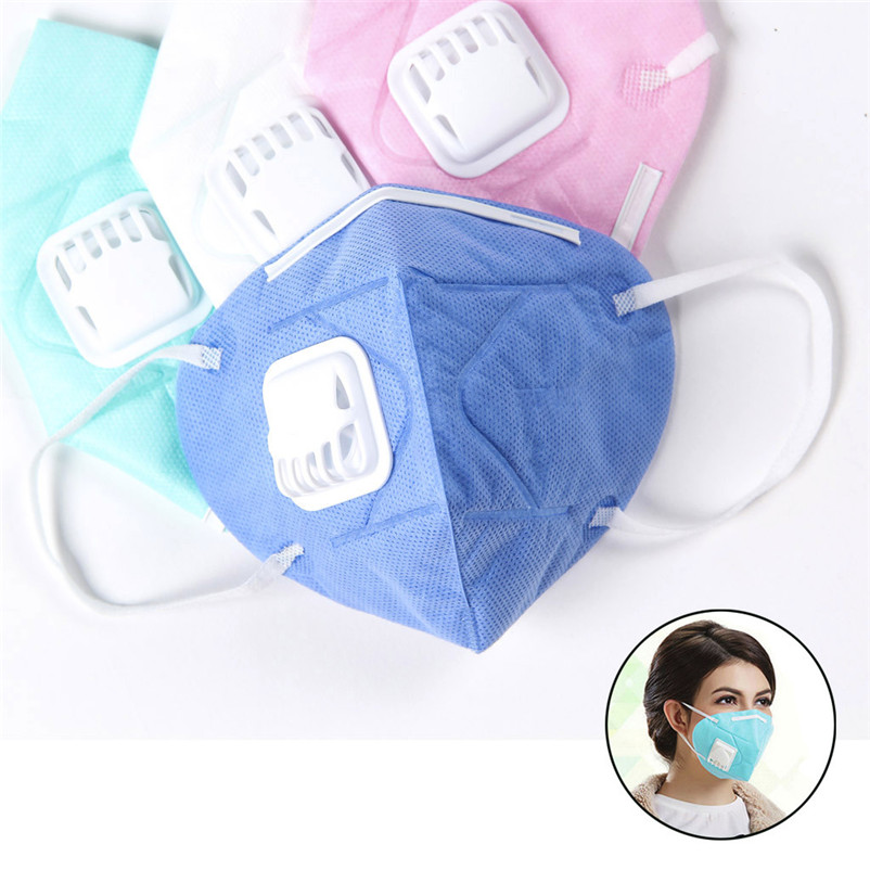Comfortable 25pc Anti Pollution Masks Unisex Outdoor Protection N95 Non-Woven Fabric Dust Mask Sports Cycling Face Mask 40LY09 (7)
