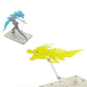 Драконий эффект украшения борьба с драгаон модель с кронштейном для Gundam Модель общего масштаба Модель-черный