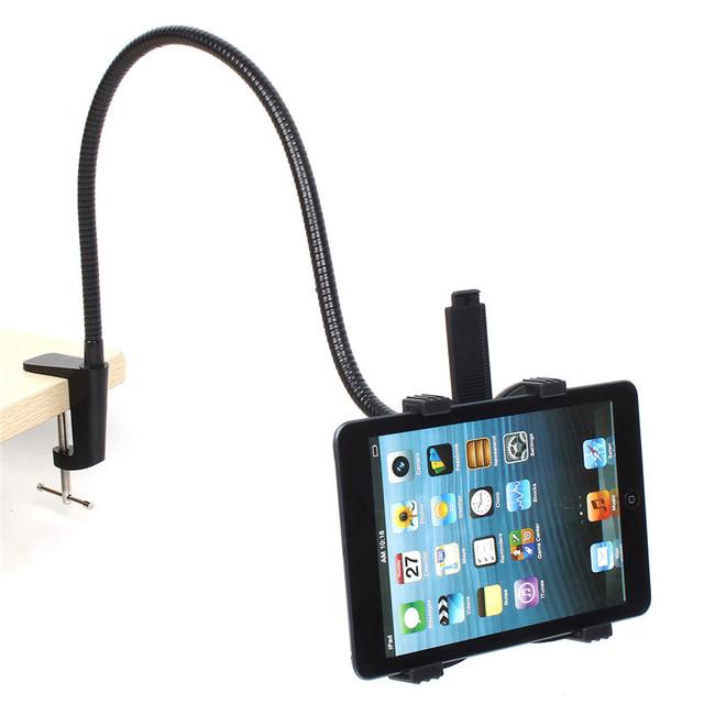2017 360 Rotación Ajustable 70 cm Brazo Cama Tablet PC soporte Cama LazyBed sostenedor del soporte del teléfono para ipad air 2 para ipad mini 1 2 3