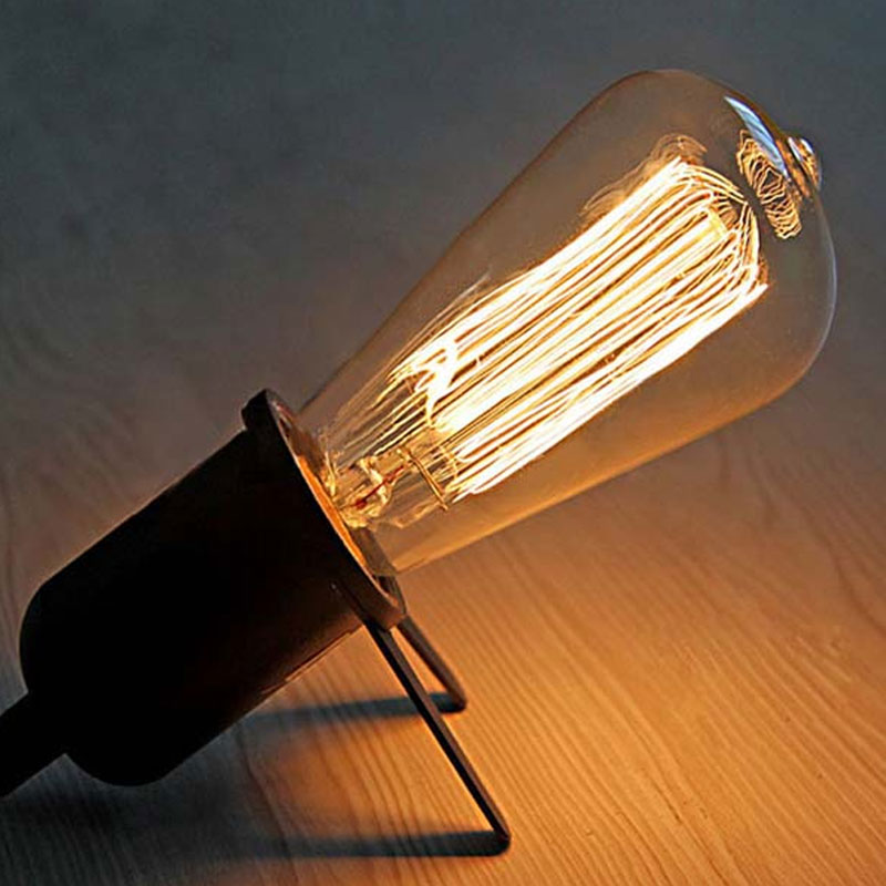 High Quality E27 25W Edison Light Bulb Incandescent Bulb ST64 Retro Edison Lights Pendant Decoration Bulb Led Filament Bulb 220V