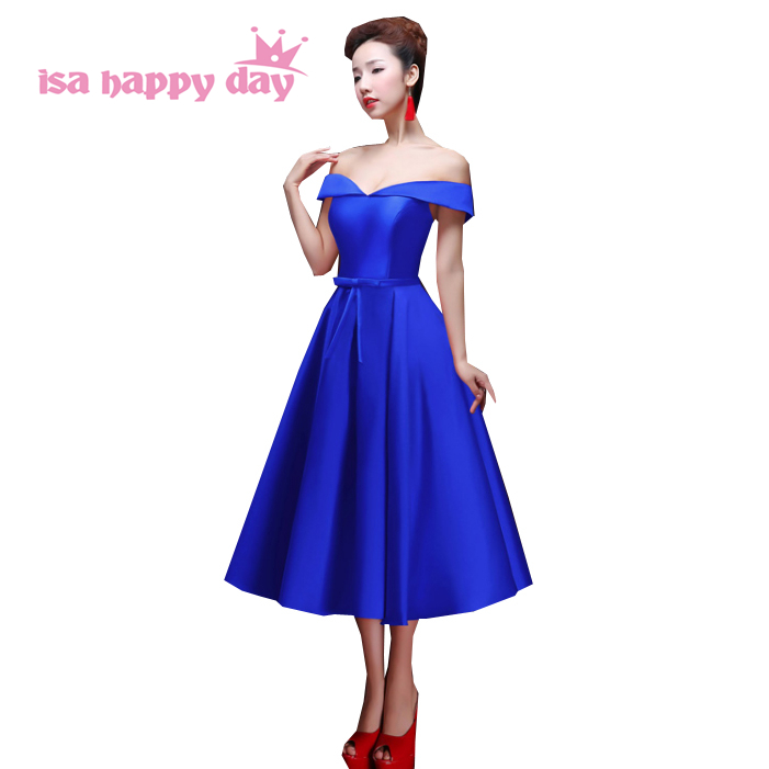 4337 15 De Descuentovestidos De Noche Negros Elegantes De Color Azul Real Para Mujer De Alta Moda 2019 Vestidos Formales Para Niñas Vestido De