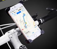 Adjustable Mobile CELL PHONE HOLDER Bike Bicycle Handlebar Mount Stands For Samsung Galaxy S7 Edge SM