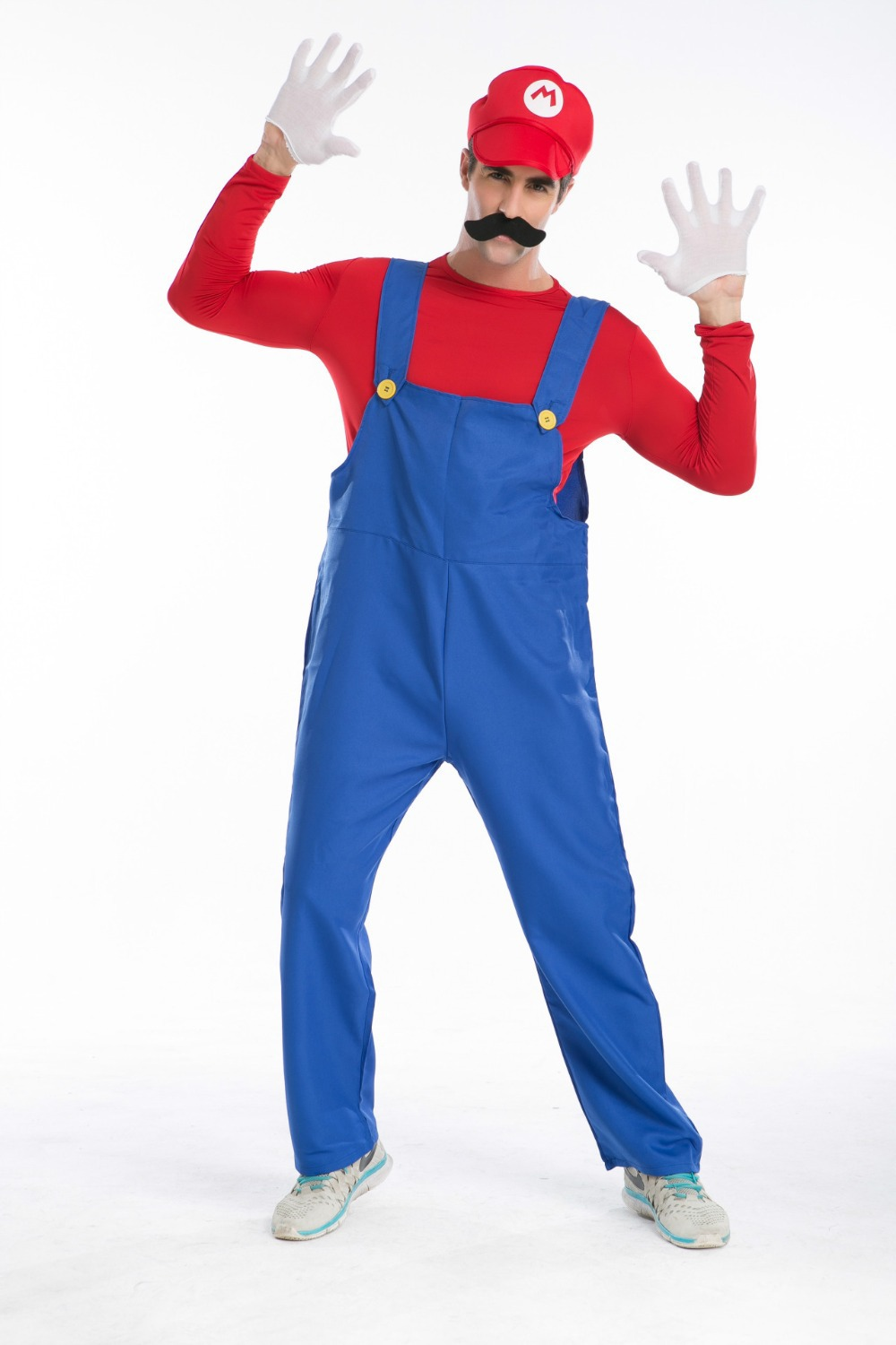 halloween costumes funny costume super mario luigi costume for